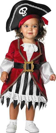 Baby Princess Pirate Costume - Party City