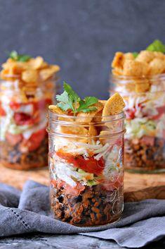 Mini FRITOS Taco Salads