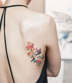 Beautiful Hummingbird Tattoo Designs — Best Tattoos for 2018 Ideas & Designs for You Body Art Tattoos, New Tattoos, Small Tattoos, Bird Tattoos, Temporary Tattoos, 3 Birds Tattoo, Small Colorful Tattoos, Tattoo Feather, Taurus Tattoos