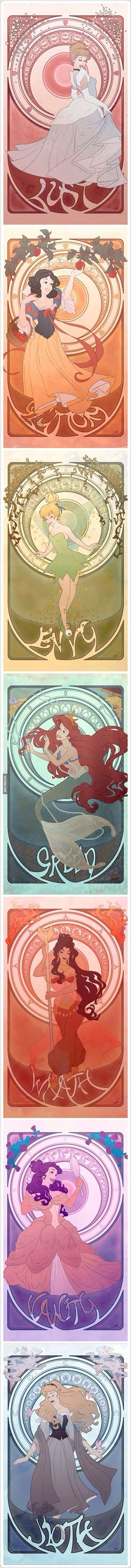 The Seven Disney Sins, This is pinned for you Kata! :D