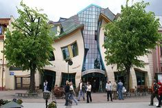 Krzywy Domek - 10 most quirky buildings in the world! Can't believe I have never been here. It looks like something out of a Pixar Fairytale. #Cheapflights2013
