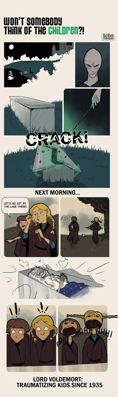 8 Magical Harry Potter Comics - these are hilarious and wonderful!