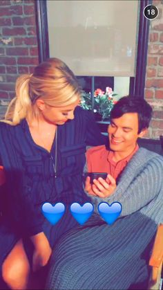 Ashley Benson & Tyler Blackburn on snapchat ❤️ #Tyshley #Haleb