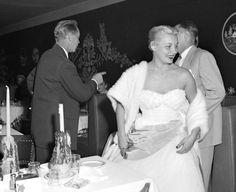 Franchot Tone & Barbara Payton