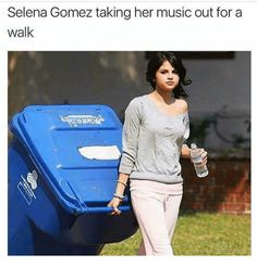 Memes for all the music lovers out there! #MusicMemes #FunnyMemes #Selena Gomez