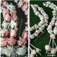 Flower Garland Wedding, Rose Garland, Floral Garland, Flower Garlands, Bridal Flowers, Floral Wedding, Flower Centerpieces, Flower Decorations, Wedding Centerpieces
