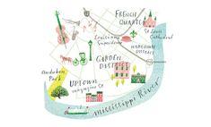 'New Orleans' Brides (US) New Orleans Map, Illustrator, Brides, Illustrations, Wedding Bride, Bridal, Illustrators, Bride, The Bride
