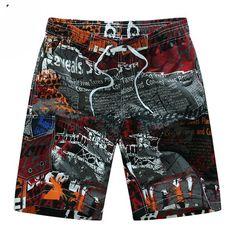 2018 Brand Quick Drying Board Shorts Heart Print Trunks Mens Beach Short Bermuda Masculinade Marca Homme Shorts Drop Shipping Year-End Bargain Sale Board Shorts