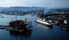 Statfjord-feltet lærte Olje-Norge å stå på egne bein - Stavanger Aftenblad Rms Queen Elizabeth, Queen Mary, Falklands War, Stavanger, Queen Victoria, Southampton, Troops, San Francisco Skyline, Dubai