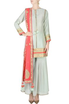 Nikasha Shadi Dresses, Indian Dresses, Salwar Kameez, Sharara, Indian Attire, Indian Wear, Pakistani Outfits, Indian Outfits, Collar Kurti Design