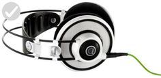 AKG Q 701 Quincy Jones Signature Reference-Class Premium Headphones (White) - Fun stuff and gift ideas (*Amazon Partner-Link)