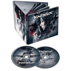 """L'album dei #Kamelot intitolato """"Haven"""" in formato mediabook con CD bonus che contiene la versione strumentale, orchestrale e acustica di tutti i brani."""