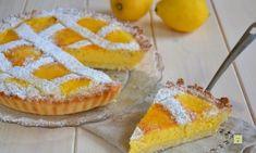 Crostata ricotta e limone Finger Food, Ricotta, Apple Pie, Pineapple, Muffin, Fruit, Breakfast, Desserts, Morning Coffee