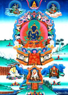 #Buddhism · The Great #Kagyu Masters - The Golden Lineage Treasury
