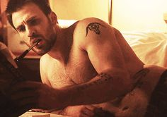 Chris Evans Shirtless Movie GIFs | POPSUGAR Entertainment