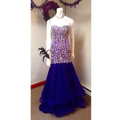Purple Mac Duggal prom dress! Available at Asiye's Boutique 757 Boston Post Rd Madison, CT 06443 203-245-1200