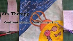 A Pretty Talent Blog: Art Therapy 6: Confrontational Communication Emotional Healing, Art Therapy, Communication, Arts And Crafts, Pretty, Blog, Blogging, Art And Craft, Communication Illustrations