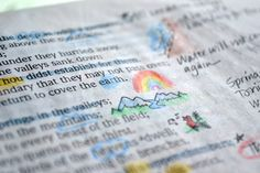 Bible marking ideas!