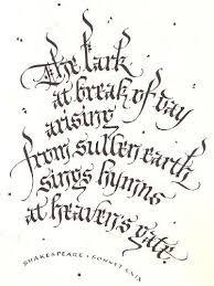 Risultati immagini per sherri kiesel calligraphy