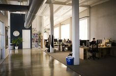 Workplace Design Outlook: The Evolving Workspace - Urban Land Magazine Office Interiors, Interior Office, Workplace Design, Cool Office, Industrial Office, Cool Photos, How To Plan, Space, Building