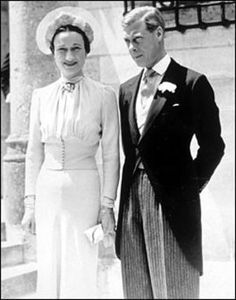Wallis Warfield marries the former King Edward VIII of Britain on June 3, 1937, in France.