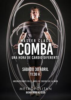 Realizaremos una Master Class de Comba el próximo sábado, 30/04 a las 11:30 h. en Metropolitan Begoña.