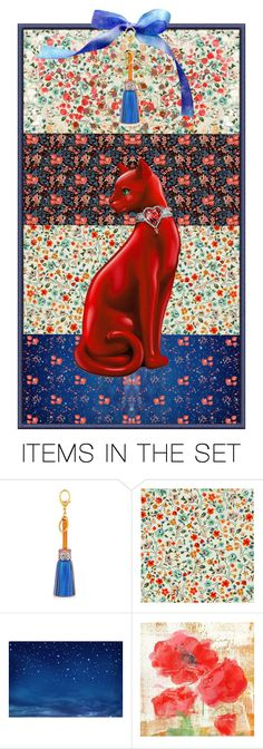 """""""3475 - Liberty Prints bookmark"""" by niwi ❤ liked on Polyvore featuring art"""