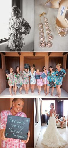 """cute bridesmaid picture idea - """"how you know the bride"""""""