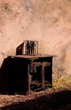 Oradour-sur-Glâne. French Nazi ruins. Photographed by Joe Fiocchi