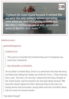 The struggles of the Coast Guard lol Funny Tumblr Posts, My Tumblr, Dc Movies, Lol, Just For Laughs, The Funny, Freaking Hilarious, Laugh Out Loud, In This World