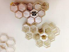 Honey bee pendants