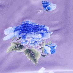 long silk shawl