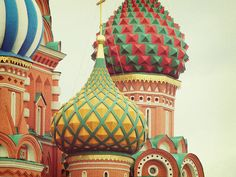 Saint Basils. Moscow Russia. St. Basil's Cathedral