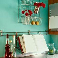 30 Iδέες - Κατασκευές για την ΚΟΥΖΙΝΑ | ΣΟΥΛΟΥΠΩΣΕ ΤΟ μ αρεσει το χρωμα του τοιχου!
