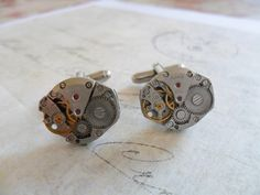 Steampunk Mechanical Cuff Links £15.00