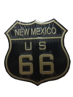 Neon Irregular Sign Retro American Style Decorative License Plate Hotel Home Antique Chic USA Route 66 Black Tin Metal Signs