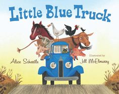 The Little Blue Truck is a fun and rhythmic story with a great moral. Read it with your child to find out the surprising ending.  This one may quickly become a favorite!