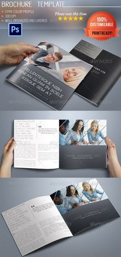 Seo Goal  Seo Services BiFold Brochure  Indesign Template