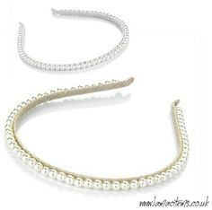 I saw a pearl headband at a store and I'm going back and getting it!!! I want to have something for an everyday look and this would be perfect!