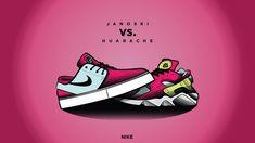 Speed Art | Janoski VS. Huarache