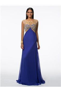 A-line Purple Sweep/Brush  Spring Evening Scoop Summer Floor-Length Dress