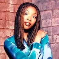 Brandy I love her box braids