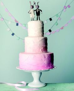 Bunny wedding inspiration: Magnolia Bakery / TheKnot.com