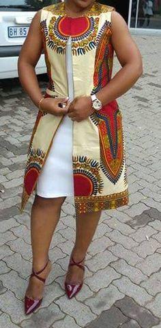 African Dashiki African Print Dress Women Dress Women - All About Latest African Fashion Dresses, African Fashion Designers, African Inspired Fashion, African Dresses For Women, African Print Dresses, African Print Fashion, Africa Fashion, African Attire, African Wear