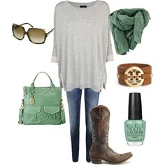 """""""Country Casual"""" by ammieee on Polyvore"""