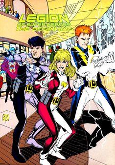 Legion of Super-Heroes (Pre-Zero Hour)/Gallery - DC Comics Database