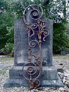 Classic Famous New Orleans Iron Trellis Rail Gate Balcony Staircase Cemetery | eBay