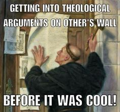 Martin Luther | theological arguments
