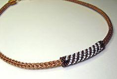 Tutorial: Peyote stitched slide bead