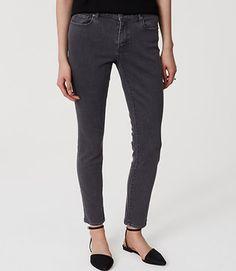 Curvy Skinny Jeans in Vintage Grey Wash - 431096
